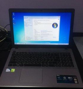 Ноутбук Asus 15.6 | Pentium 2117 | 8GB | Nvidia