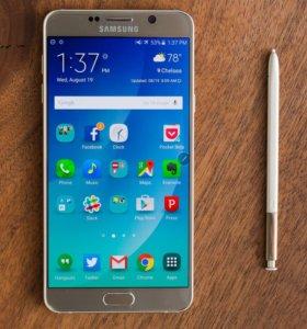 Samsung Note 5 Demo Unit Золотой