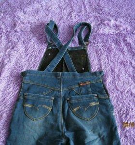 Джинсы/джинсовый комбинезон для беременной