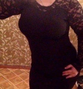48-50 Чёрное платье