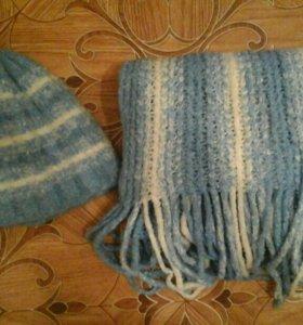 компект шапка+шарф