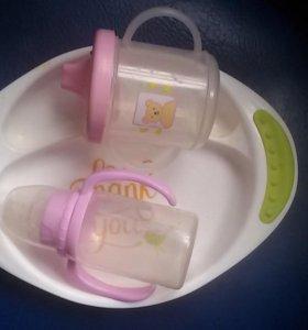 Продается посуда для малыша
