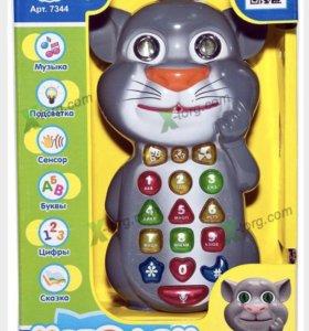 Детская интерактивная игрушка Котофон