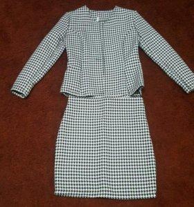 Костюм 2-ка(юбка и пиджак)