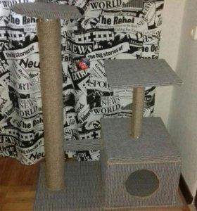 Когтенка +домик для кошки