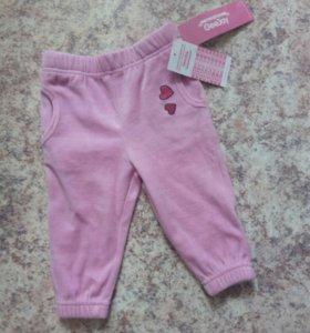 Новые велюровые штанишки GJ