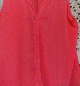 Яркая блузка