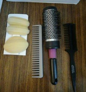 Набор расческа брашинг