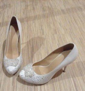 Туфли на свадьбу Натуральная кожа 40 размер