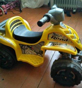 Квадроцикл детский электро