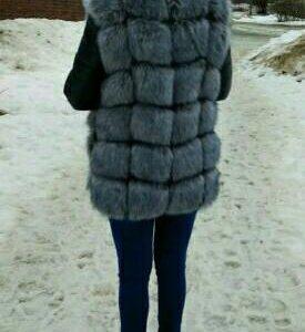 Куртка зимняя меховая