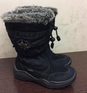 Сапоги зима б/у