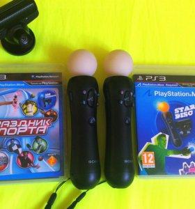 комплект PlayStation Move со стиками