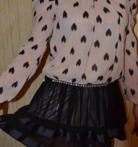 Платье вечернее, очень эффектное!