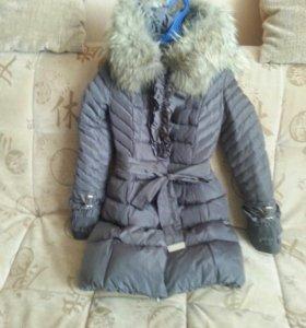 Пальто зима в отличном состоянии
