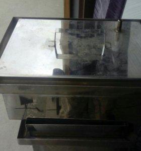 Коптильня с гидрозатвором нержавейка