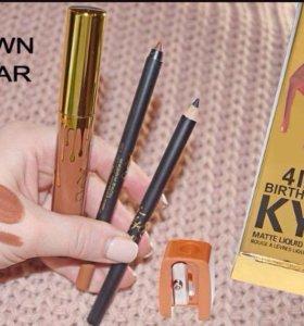 Набор Kylie 4в1 BROWN SUGAR