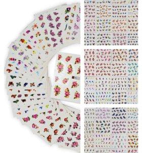 5+1 Простые наклейки для ногтей.