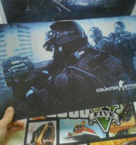 Игровые плакаты
