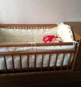 Продам кроватку!В отличном состоянии!