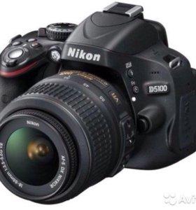Фотоаппарат Nikon D5100 kit 18-55VR