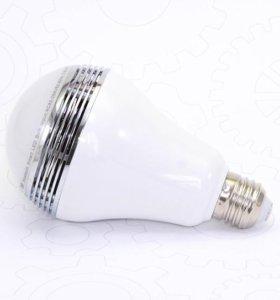 Музыкальная bluetooth лампа