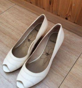 Туфли кожаные 36 размер