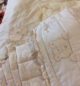Одеяло+Комплект для кроватки