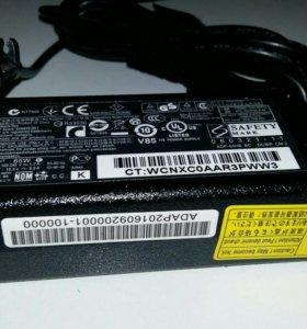 Зарядное HP новое 18.5v 3.5a