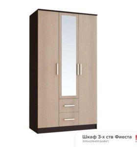Шкаф с 3 дверцами фиеста1