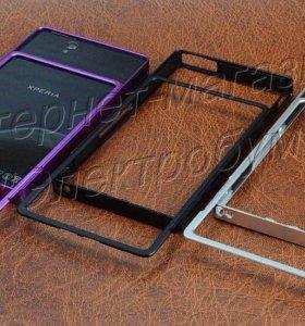 Бампер чёрный Sony Xperia Z3