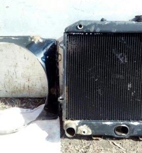 Радиатор с дифузором