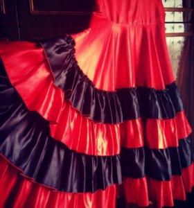 Юбка для танцев фламенко