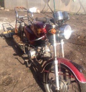 Мотоцикл на запчасти
