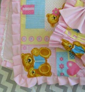 Нарядное Одеялко на выписку и в кроватку