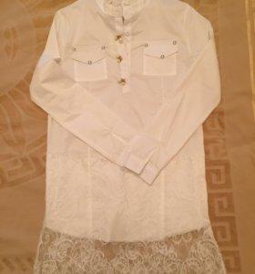 Рубашка -туника новая
