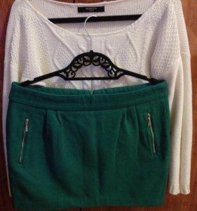 Комплект свитер + юбка