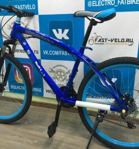 Синий велосипед BMW X1