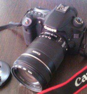 Зеркалка Canon 60d + объектив 18-135 mm