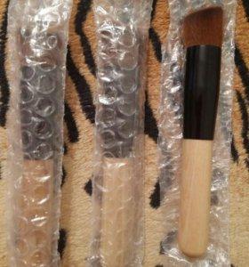 Кисти для макияжа пудры тонального крема