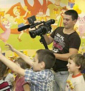 Видеосъёмка  детских праздников и утренников