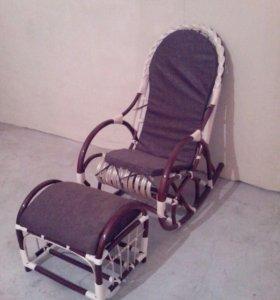 """Кресло-качалка """"Грация с косичкой"""""""