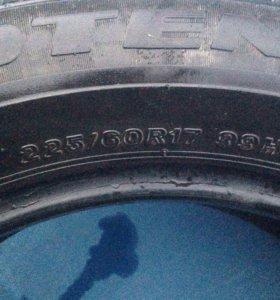 Продам лето 225 60 R17 Bridgestone