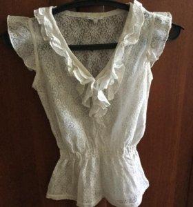 Кружевная блузка 40-42