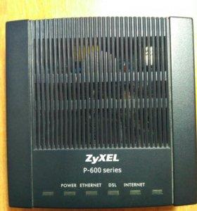модем ADSL Zyxel P-600