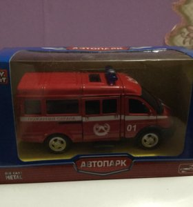 Машинка газель пожарная