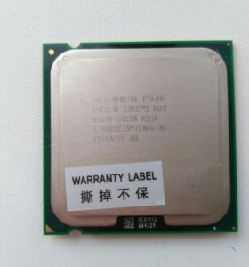 Intel core2duo E 7600