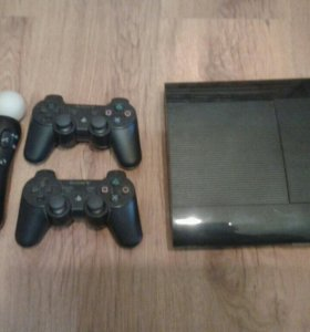 PlayStation 3 Super Slim 500 GB + игры