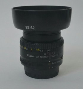 Объектив nikon 50 mm 1.8