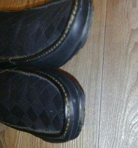 Продам мужские туфли - мокасины